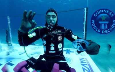New Scuba Diving Guinness World Record