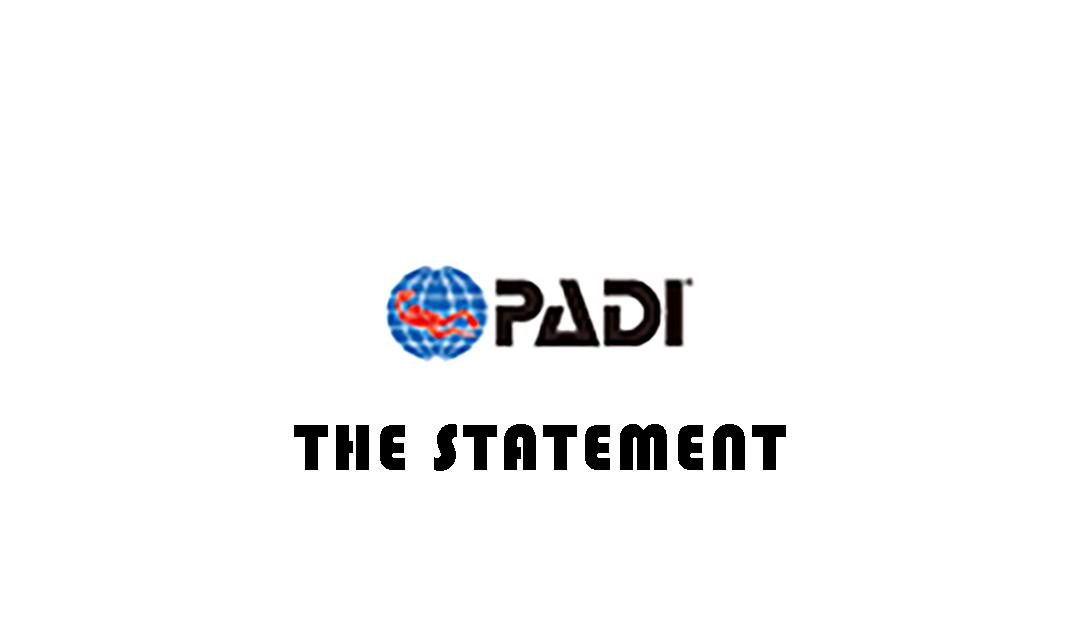 The PADI statement about its sell